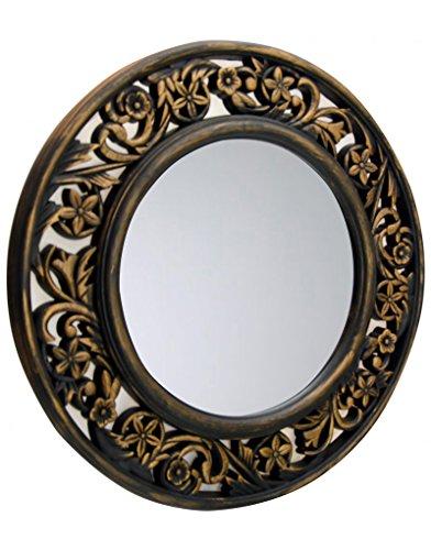Hogar y Mas Espejo Pared Decorativo Redondo