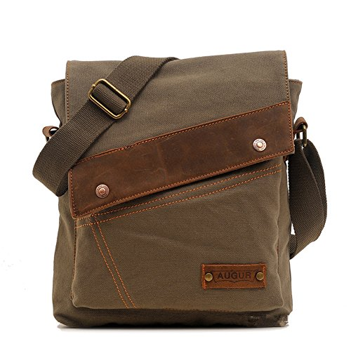 sechunk-unisex-canvas-leather-shoulder-bag-messenger-bags-army-green