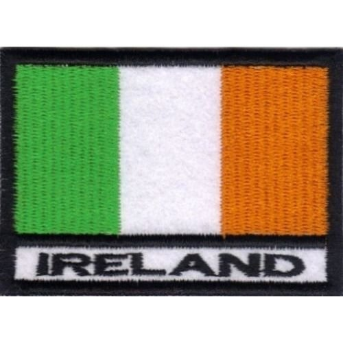 Patch Bandera IRLANDA cm 7x 5Parche Bordado Bordado