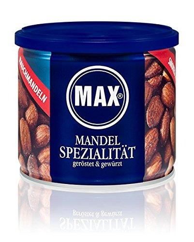 Preisvergleich Produktbild MAX MANDEL SPEZIALITÄT - geröstet & gewürzt (8er Karton)