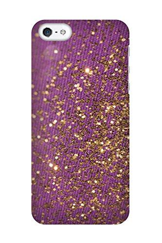 iPhone 4/4S Coque photo - paillettes d'or