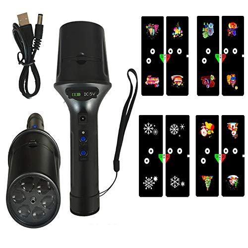 Flashlight Projektor LED Licht Landschaft Weihnachten Halloween Party ()