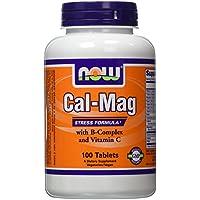 NOW Cal-Mag Stress Formula 100 tabletten preisvergleich bei billige-tabletten.eu