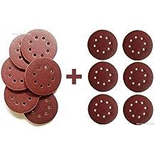 180x Haft-Schleifscheiben Mix 125 mm für Exzenterschleifer Schleifpapier