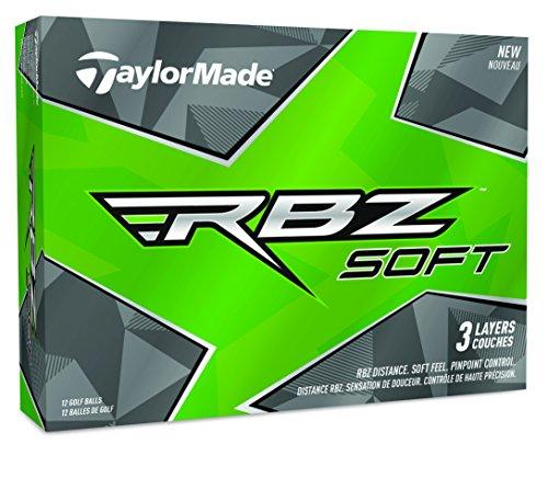 TaylorMade RBZ Soft Golfbälle, Weiß (One Dutzend)