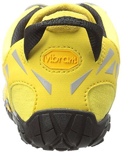 Vibram Five Fingers V, Chaussures de Trail Femme Jaune (Yellow/black)