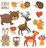 #4: iDream Iron on Patches Animal, Decoration DIY Patch for Jeans Clothing etc (Theme E)