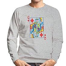 Queen Of Glam Lady Gaga Men's Sweatshirt
