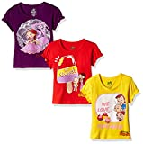 #2: Chhota Bheem Girls' T-Shirt (Pack of 3) (8904157861328) 2 - 3 Years