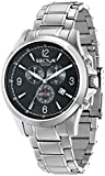 Sector Men's Quartz Watch with Black Dial Analogue Display and Black PU Strap R3271776001