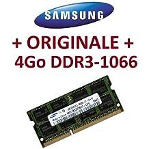 Memoria Samsung original, 1x 4GB, 204pines, DDR3-1066PC3-8500SO-DIMM (M471B5273BH1-CF8), memoria portátil para ordenador DDR3 + Apple Macbook + Apple MacBook Pro + iMac + Mac Mini (2009/2010)