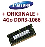 Best Del ordenador portátil para Pro Tools - Memoria Samsung original, 1 x 4 GB, 204 pines, DDR3-1066 PC3-8500 SO-DIMM (M471B5273BH1-CF8) Review