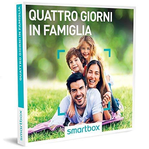 Smartbox - quattro giorni in famiglia - 437 soggiorni a scelta in b&b, agriturismi e hotel 3*, cofanetto regalo