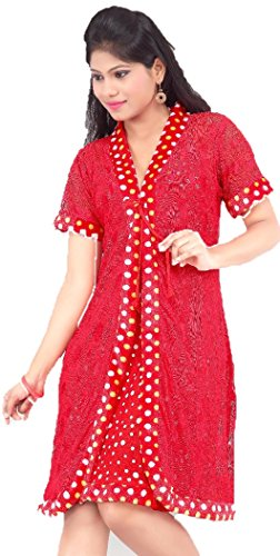 Hot n sweet 9022-b 9022 B Red Two Pieces Nighty - Best Price in ... bb46185fb