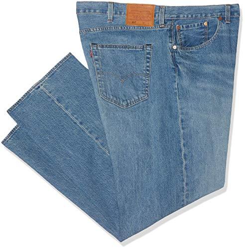 Levi's Herren 501 Button Fly B&t Straight Jeans, Blau (Baywater 0065), 46L / 32W -