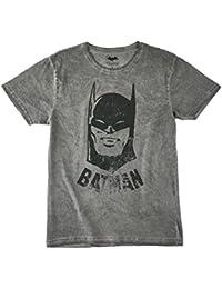 Batman Hombres Camiseta manga corta - Gris
