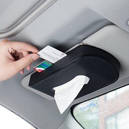 FMS Kosmetiktücherbox Auto Tissue Box Tücherbox Kreativ Stromlinienentwurf mit Telefonnummern-Aufklebern