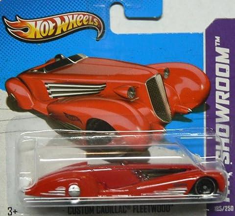 Hot Wheels HW Showroom 185/250 Custom Cadillac Fleetwood on Short Card by Hot Wheels