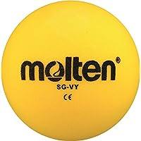 22x Molten–Pelota de gomaespuma SG de VY suave Niños Kids Balón + RS de Sports Bolígrafo, amarillo, 290g, Ø 210 mm