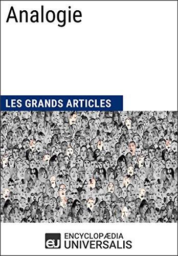 Livres gratuits Analogie (Les Grands Articles d'Universalis) epub pdf