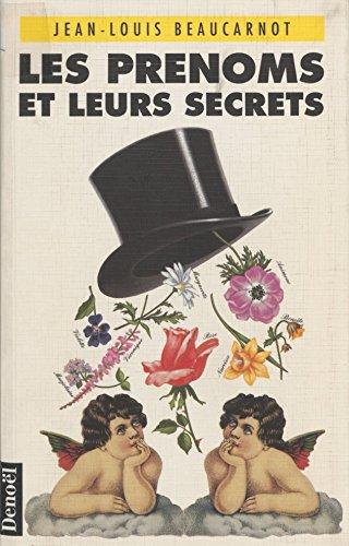 Les Prénoms et leurs secrets