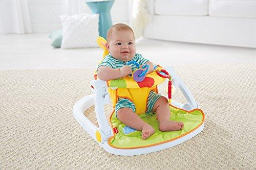 Image of Fisher-Price Giraffe Sit-Me-Up Floor Seat