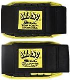 Alle Pro Verstellbares Aqua Power Aquatic Ankle Gewichte One Size schwarz/gelb