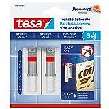 Tesa 77765-00001-00–verstellbare Klebeschrauben für Fliesen und Metall (3kg)