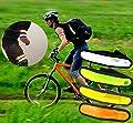 AGIA TEX LED-Armband Reflektor Armbinde Sicherheit und Sichtbarkeit im Dunkeln Fahrrad Laufen Reiten verschiedene Farben
