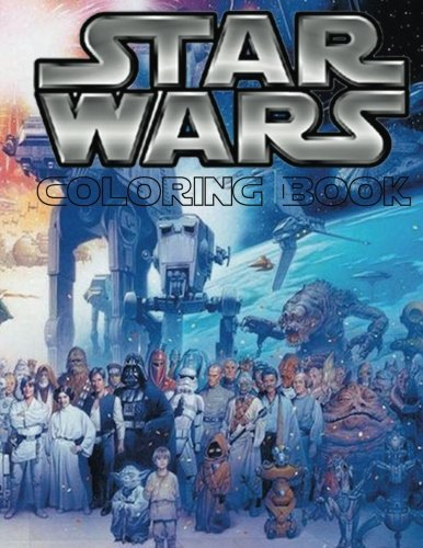 Star Wars Coloring Book: This fantastic 60 page A4 size Coloring Book is full of images from Star War Movies including all your favorite characters ...