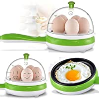 Swabs mini electric 7/14 egg poacher steamer cooker boiler fryer for egg (color may vary)