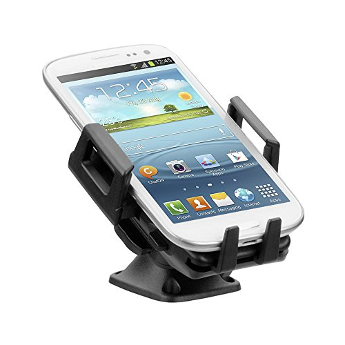 iGRIP T5-12120 DASH Kit - Universal Armaturenbrett Halterungslösung für alle Smartphones (z. B. Apple iPhone 7/8 (Plus), Samsung Galaxy S7 (Edge), One Plus 3T, Google Pixel) [Made in Germany   360 Grad drehbar   vibrationsfrei]