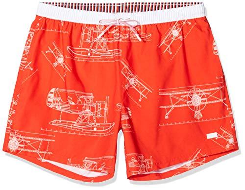 BOSS Piranha Bañador, Naranja Open Orange 844, Large para Hombre