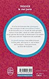 Image de Dictionnaire des idées suggérées par les mots : trouver le mot juste