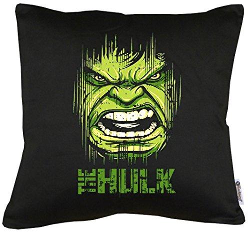 TLM Hulk Face Kissen mit Füllung 40x40cm (Green Arrow Kostüm Party Stadt)