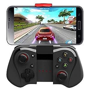 OOFAY PG-9033 Wireless Bluetooth Gamepad Android Ios Drahtloser Controller Für Mobiltelefon TV Box Joystick (Schwarz)