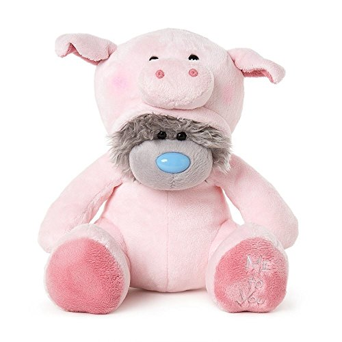 "Me to You 24"" Large Animal Onesie Bear Dressed as Pig PRE"