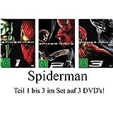 Spider-Man: Teil 1-3 komplett im Set - Deutsche Originalware