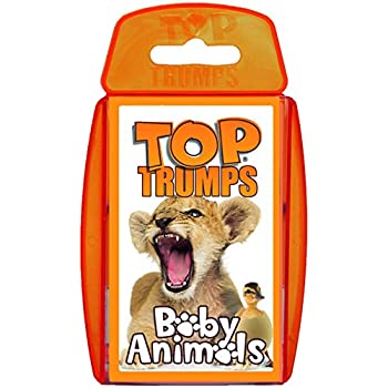 Baby Animals Top Trumps Card Game
