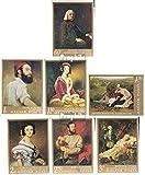 Ungarn 2330B-2336B (kompl.Ausg.) 1967 Gemälde der Nationalgalerie Budapes (Briefmarken für Sammler)