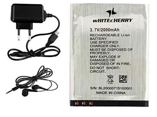 Surya WHITECHERRY Heavy Battery Dual Sim Mobile Phone in Silver Colour