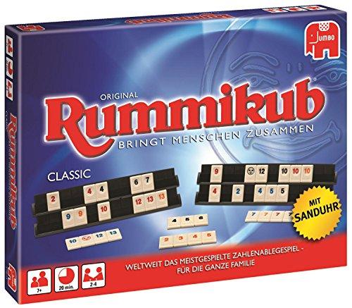 emotify spiel Jumbo 17571 - Original Rummikub Classic