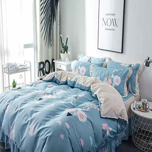 Fashion·LIFE Bettwäsche, Bettbezug, Doppelt, Atmungsaktiv, Cartoon