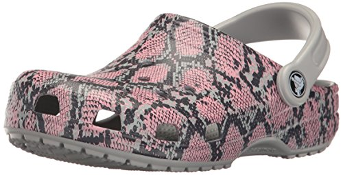 crocs Unisex-Erwachsene Clsscsnkgrphclg Clogs, Grau (Light Grey), 37-38 EU