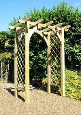 zest4leisure Horizon Arch – Holz