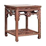 Ihre Wahl Couchtisch Side Redwood Klassischer quadratischer Tisch im chinesischen Stil