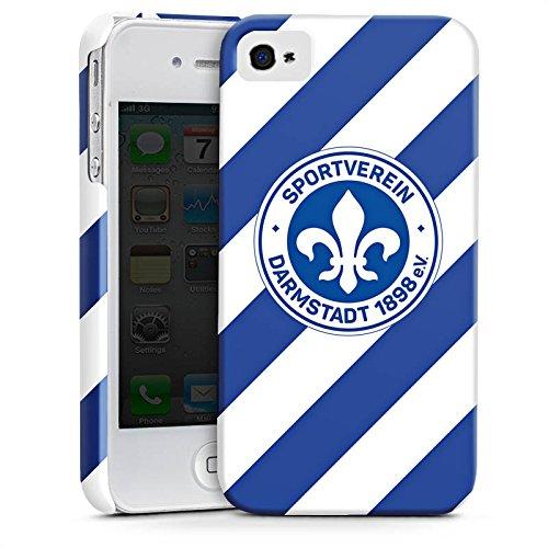 Apple iPhone X Silikon Hülle Case Schutzhülle Bundesliga Fußball Darmstadt98 Premium Case glänzend