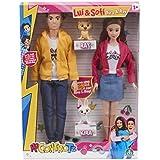 Giochi Preziosi Me Contro Te Fashion Doll Coppia con Cani