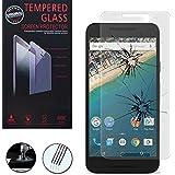 LG Nexus 5X: cartera Piel sintética efecto tejido libro tapa soporte de vídeo + 2Protectores de pantalla transparente + 1Mini lápiz capacitivo + 1soporte coche Auto GPS con pinza giratorio ajustable