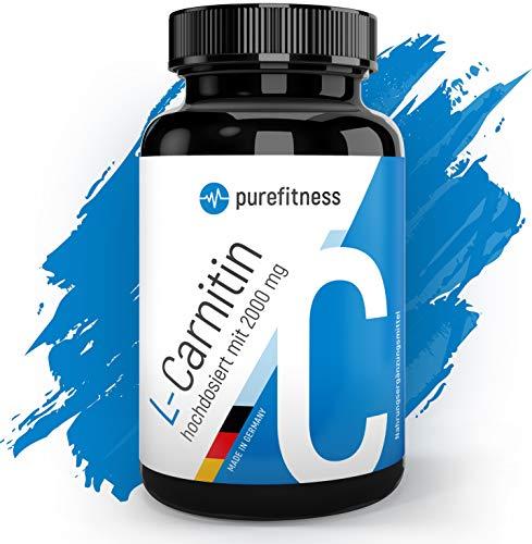 ULTRA HOCHDOSIERT - L Carnitin Rein & Laborzertifiziert I 3000 mg á Tagesportion I Vegan mit Bio Carnaubawachs I 120 Tabletten I Beliebt in Definitionsphase-Bodyshaping I Premium Qualität